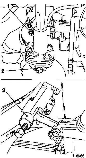 Vauxhall Workshop Manuals > Omega B > M Steering