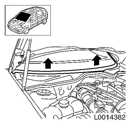 Vauxhall Workshop Manuals > Omega B > B Paint > Roof