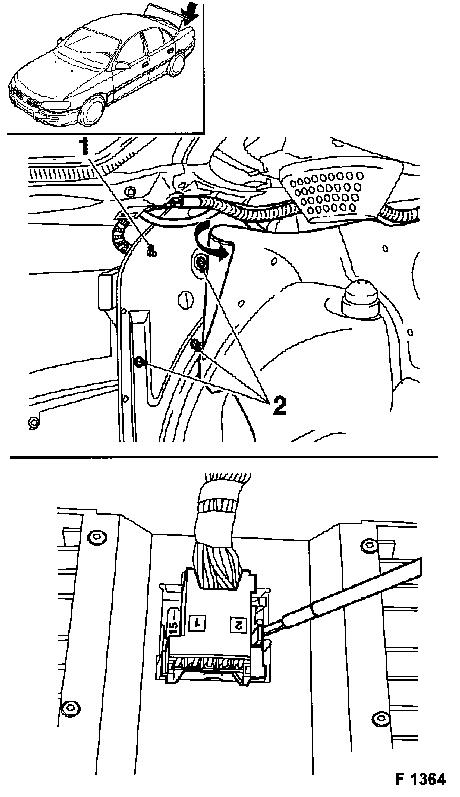 Vauxhall Workshop Manuals > Omega B > R Accessories