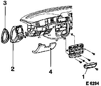Vauxhall Workshop Manuals > Omega B > C Body Equipment