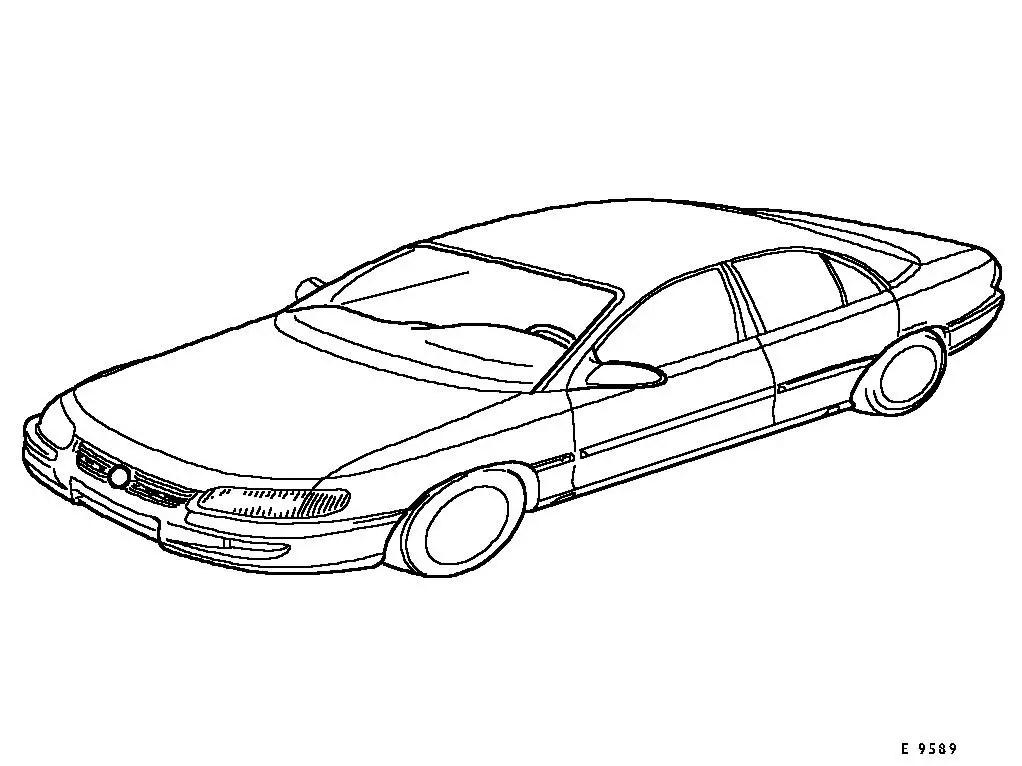 Vauxhall Workshop Manuals > Omega B > General Vehicle