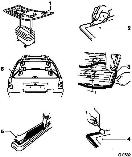 Vauxhall Workshop Manuals > Vectra B > C Body Equipment