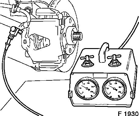 Vauxhall Workshop Manuals > Vectra B > H Brakes > Brake