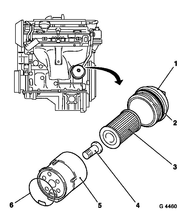 Filter Housing: Oil Filter Housing Zafira