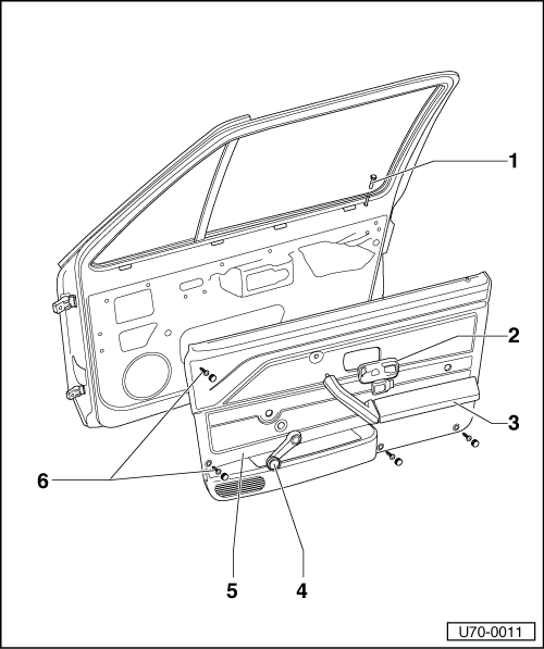 Volkswagen Workshop Manuals > Golf Mk1 > Body > Body