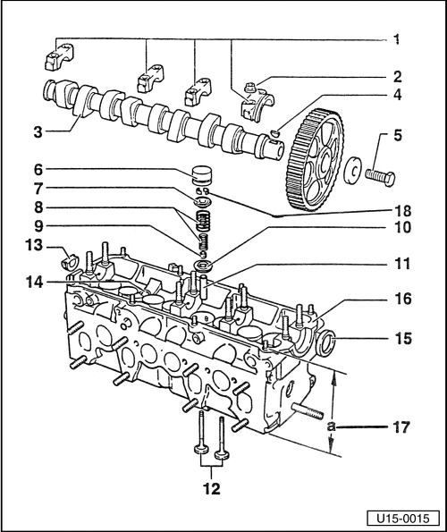 Volkswagen Workshop Manuals > Golf Mk1 > Engine, mechanics