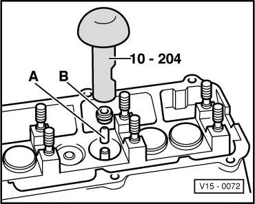Volkswagen Workshop Manuals > Golf Mk1 > Engine, mechanics