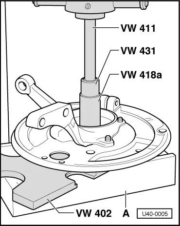 Volkswagen Workshop Manuals > Golf Mk1 > Running gear