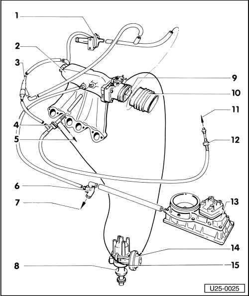 Volkswagen Workshop Manuals > Golf Mk1 > Power unit > K