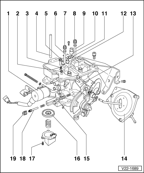 Volkswagen Workshop Manuals > Golf Mk1 > Power unit > 34