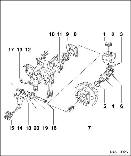 Volkswagen Workshop Manuals > Golf Mk2 > Running gear