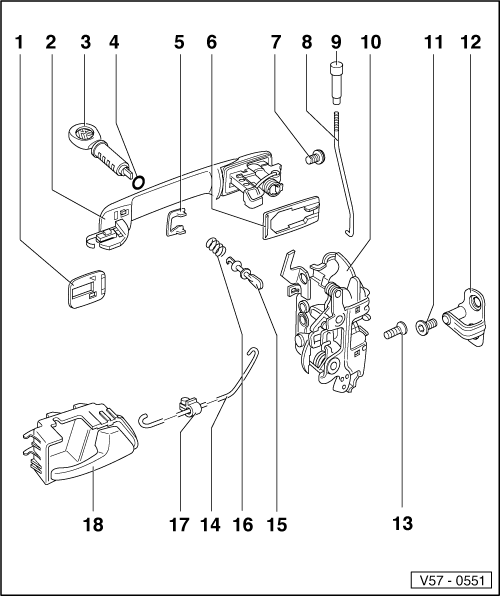 Volkswagen Workshop Manuals > Golf Mk3 > Body > General