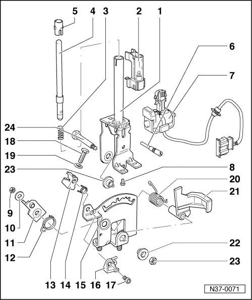 Volkswagen Workshop Manuals > Golf Mk3 > Automatic gearbox