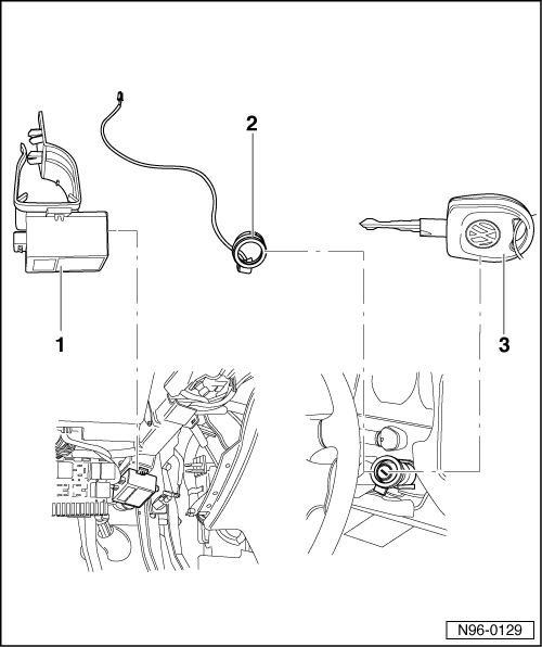Volkswagen Workshop Manuals > Golf Mk3 > Vehicle electrics