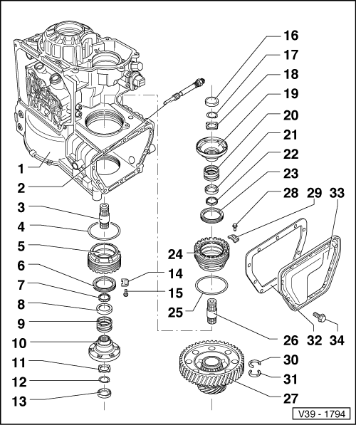 Volkswagen Workshop Manuals > Golf Mk3 > Power