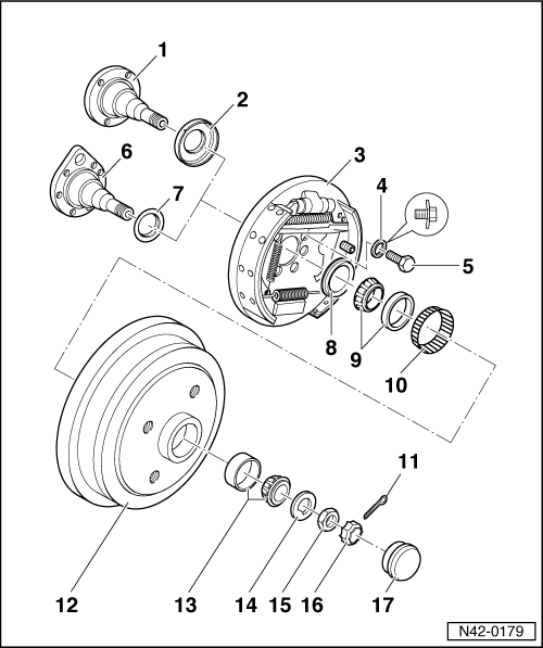 Rear Wheel Bearing Oil Seal 2