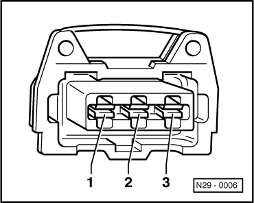 Volkswagen Workshop Manuals > Golf Mk3 > Power unit > Motronic injection and ignition system (6
