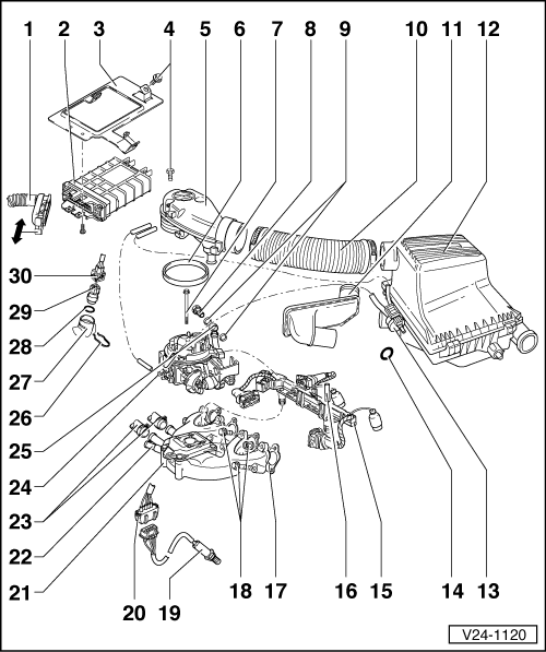 Volkswagen Workshop Manuals > Golf Mk3 > Power unit > Mono