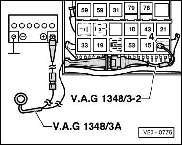 2000 vw beetle fuse box diagram house wiring india volkswagen workshop manuals > golf mk3 power unit mono motronic injection and ignition ...