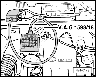 Volkswagen Workshop Manuals > Golf Mk3 > Power unit