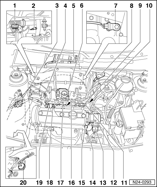 Volkswagen Workshop Manuals > Golf Mk3 > Power unit > 1AV