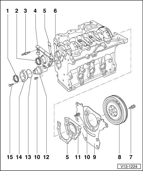 Volkswagen Workshop Manuals Golf Mk3 Power Unit 4