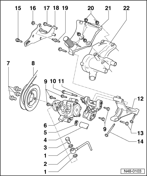 Volkswagen Workshop Manuals > Golf Mk3 > Running gear