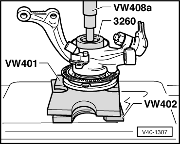 Volkswagen Workshop Manuals > Golf Mk3 > Running gear