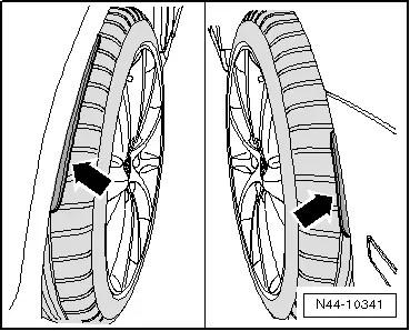 Volkswagen Workshop Manuals > Golf Mk3 > Wheels and Tyres