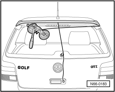 Volkswagen Workshop Manuals > Golf Mk4 > Body > General