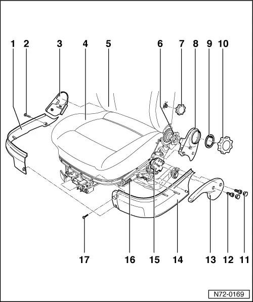 Volkswagen Workshop Manuals > Golf Mk4 > Body > General
