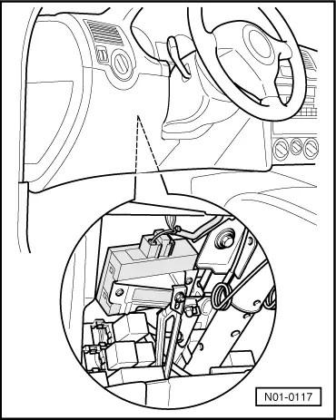 C-lås baklucka fungerar ej. Golf IV