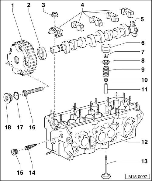 Volkswagen Workshop Manuals > Golf Mk4 > Engine > 4cyl