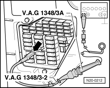Volkswagen Workshop Manuals > Golf Mk4 > Engine > 4cyl. Injection Engine, (2.0 ltr. Engine