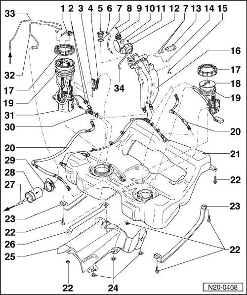 Volkswagen Workshop Manuals > Golf Mk4 > Engine > 5-cyl