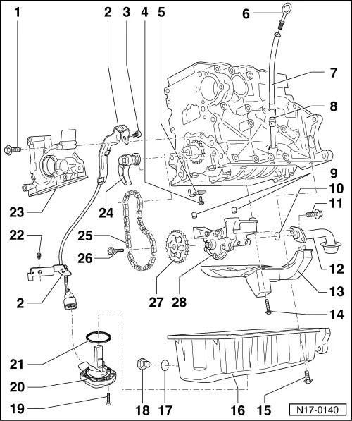 Volkswagen Workshop Manuals > Golf Mk4 > Engine > 4-cyl