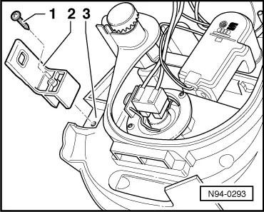 Volkswagen Workshop Manuals > Golf Mk4 > Vehicle electrics