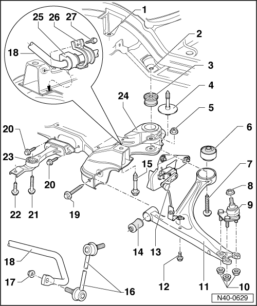 Audi 500se Workshop Manual