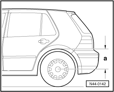 Volkswagen Workshop Manuals > Golf Mk4 > Running gear