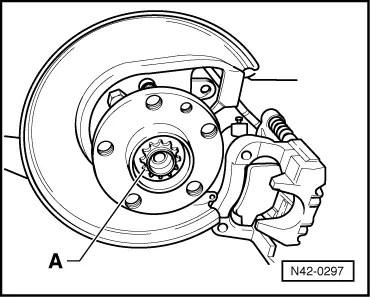 Volkswagen Workshop Manuals > Golf Mk4 > Running gear