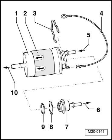 Volkswagen Workshop Manuals > Golf Mk4 > Power unit > 4cyl