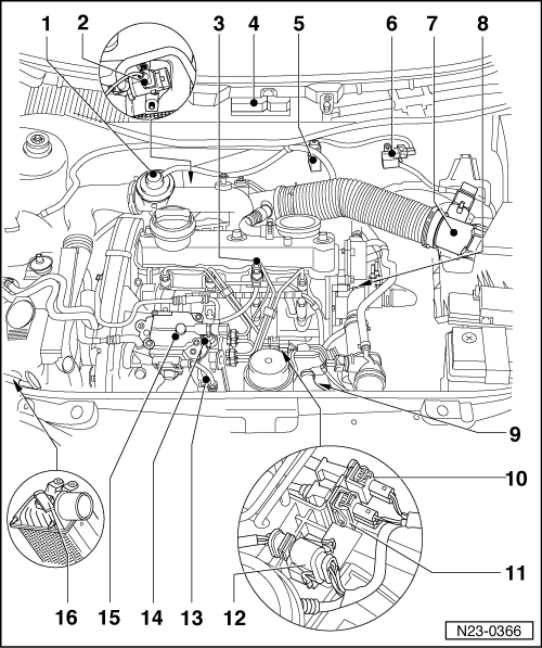 Volkswagen Workshop Manuals > Golf Mk4 > Power unit