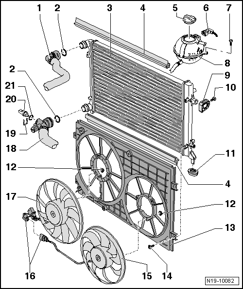 audi engine schematic