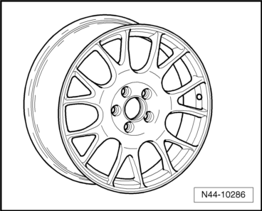 Volkswagen Workshop Manuals > Golf Mk5 > Wheels and Tyres