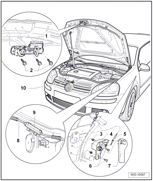 Volkswagen Workshop Manuals > Golf Mk5 > Body > General