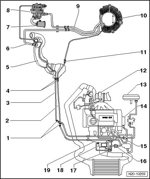 Vw 5 Cylinder Engine Diagram, Vw, Get Free Image About