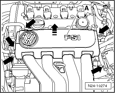 Volkswagen Workshop Manuals > Golf Mk5 > Power unit > 4