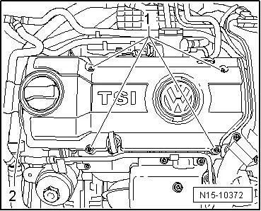 Volkswagen Workshop Manuals > Golf Mk5 > Power unit > 4-cylinder injection engine (1.4 l direct