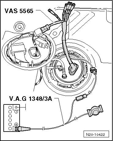 Volkswagen Workshop Manuals > Golf Mk5 > Power unit > Fuel