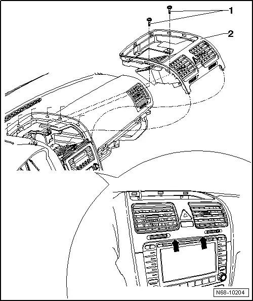 Volkswagen Workshop Manuals > Golf Mk5 > Heating